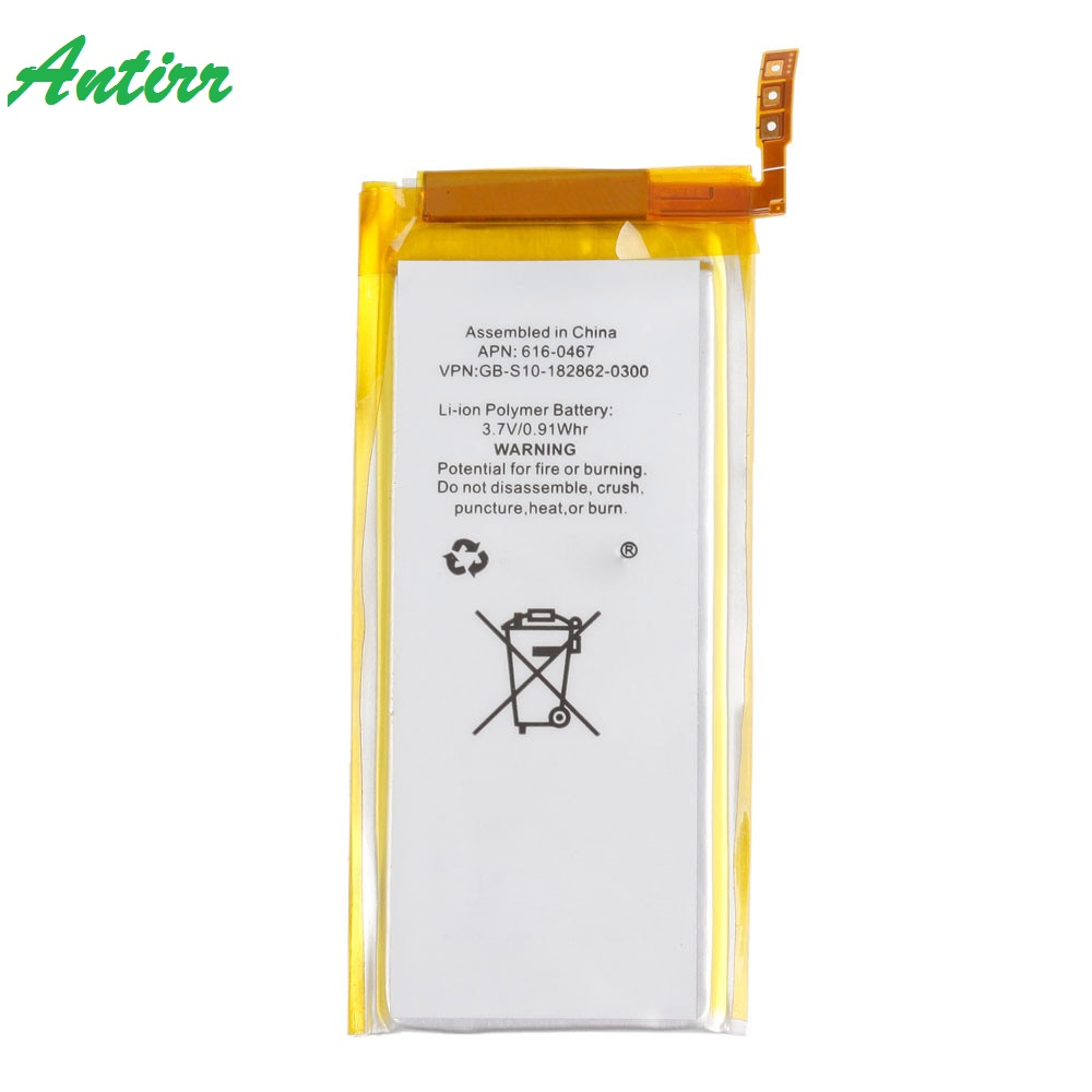 Brand New 3.7V Li-ion Battery Replacement for iPod Nano 5 5th Gen with Tools(China)