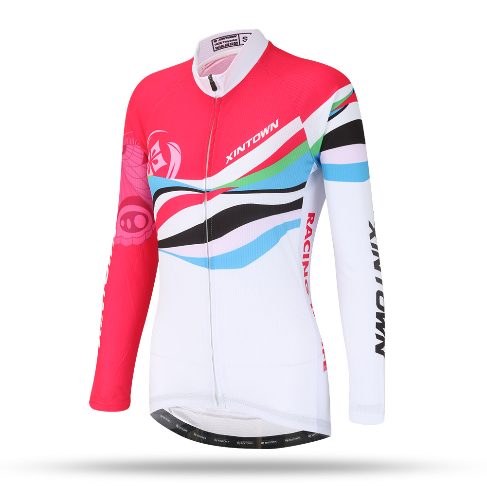 Woman Cycling Long Sleeves Jersey Outdoor Riding Clothing Sports Wear Mountain 2017 Bicycle Jerseys Cycle Clothes