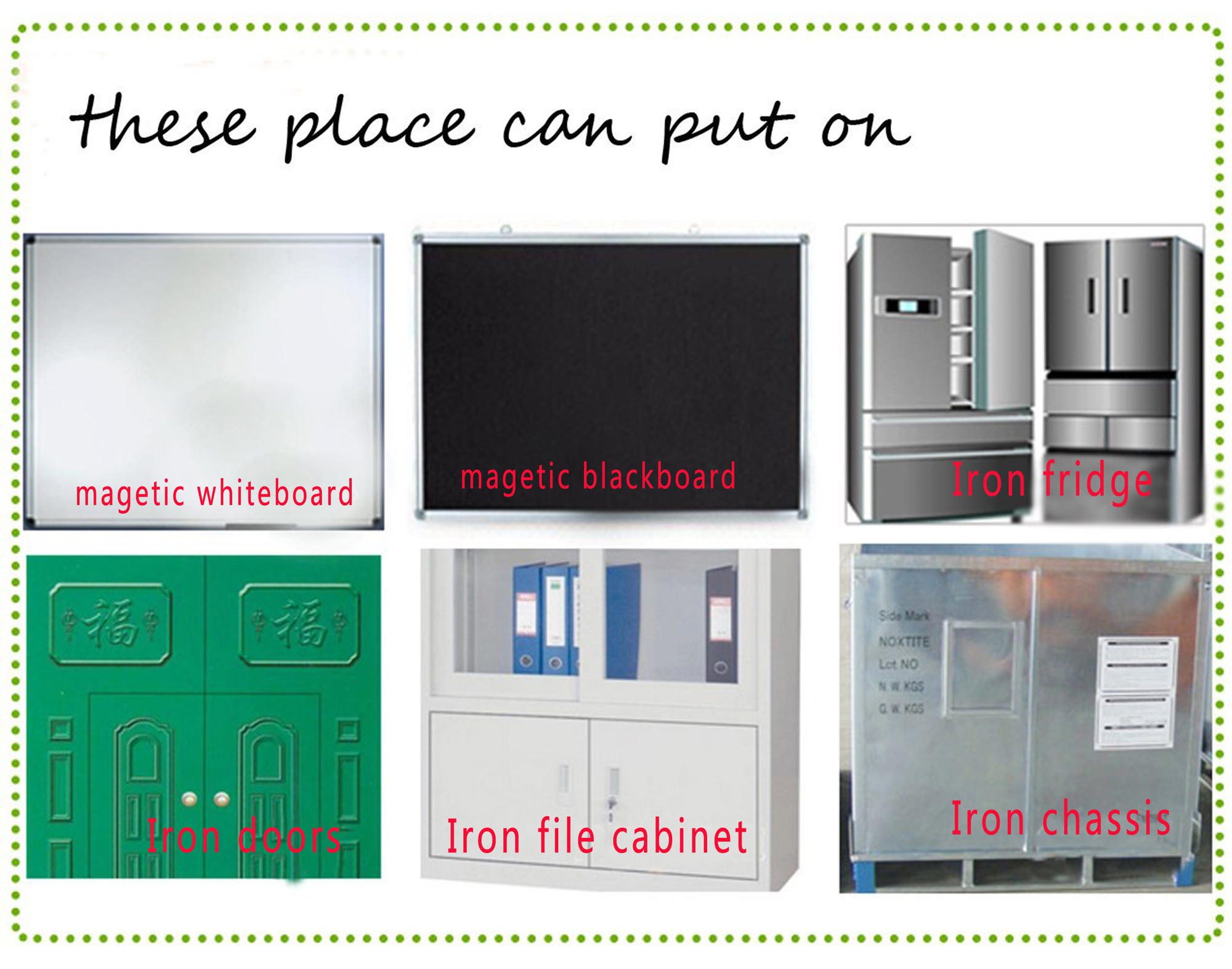 Magnetic Dry Erase Calendar Board for Fridge A3 16.5''x11.8'' Weekly Magnetic Whiteboard Planner Board With Free 8 Pen