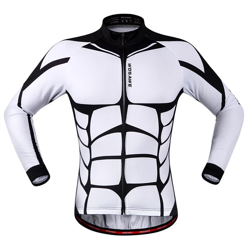 WOSAWE 2016 cycling jersey Outsports bike wear clothing long sleeve riding racing ropa mtb Mountain road Clothing for men Women