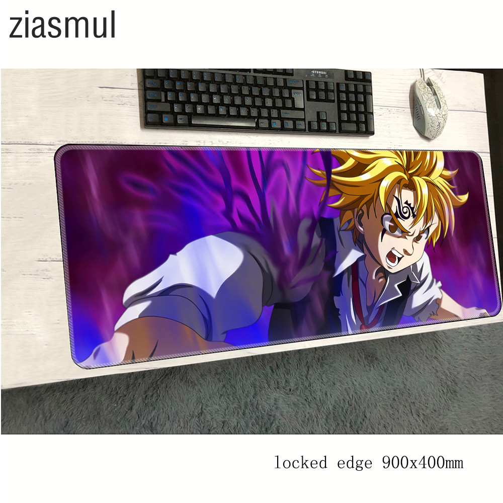 Seven Deadly Sins Mouse Pad 900x400x3mm Best Mousepads Best Gaming Mousepad Gamer Xl Personalized Mouse Pads Keyboard Pc Pad