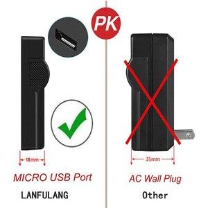 Image 4 - LANFULANG Camcorder Battery Charger Compatible For PANASONIC NV GS230 NV GS320 VDR D300 VDR M70 VDR M50 VDR D210