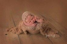 100% одеяло для обертывания из кружевной ткани для новорожденной фотографии, кружевное обертывание с подшивкой для фотографирования шляпы