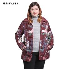 MS VASSA Women Jackets 2019 New Autumn Winter Ladies reversi