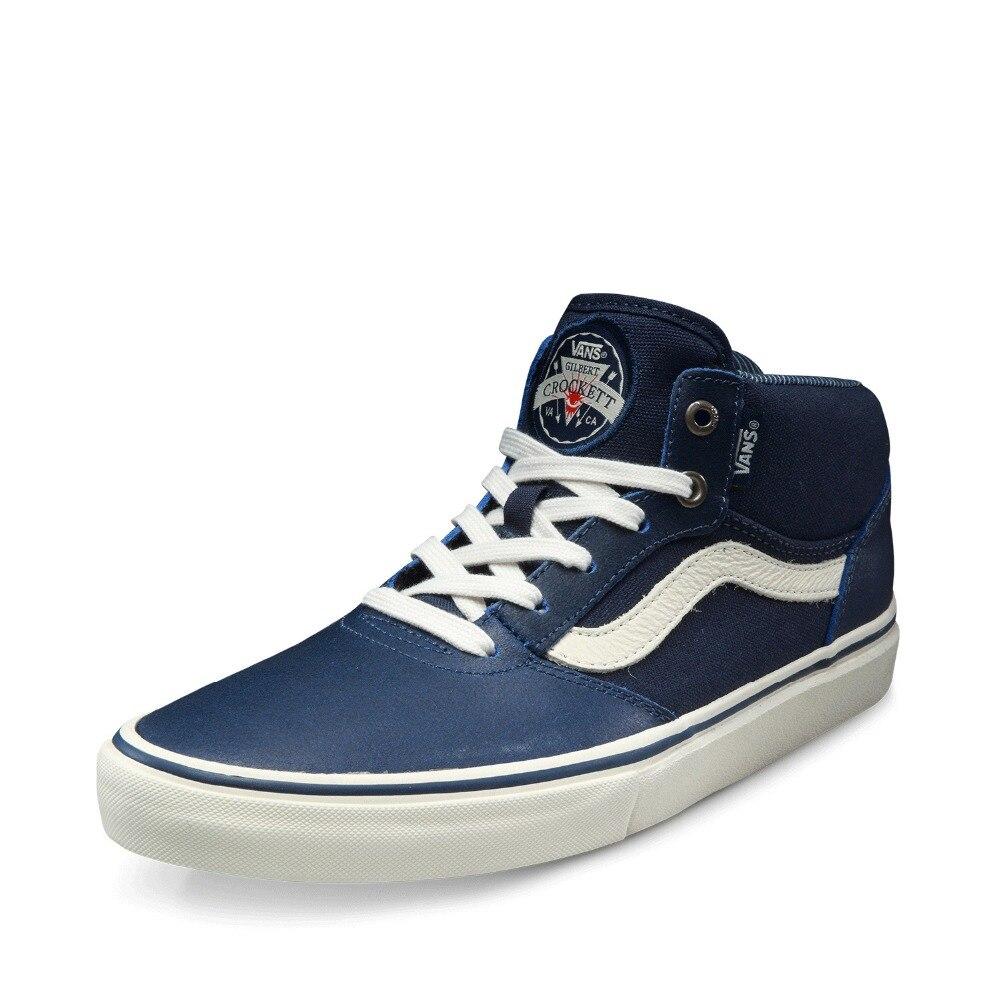 online store f05e7 5f550 Blu Inverno Medio Uomo Colore Originale Vans Skateboard Scarpe Da nzUtH