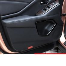 Lsrtw2017 Fiber Leather Car Inner Door Anti-kick Mat for Acura CDX 2017 2018 2019 2020 песочный фильтрующий насос intex krystal clear 8000л ч 26648