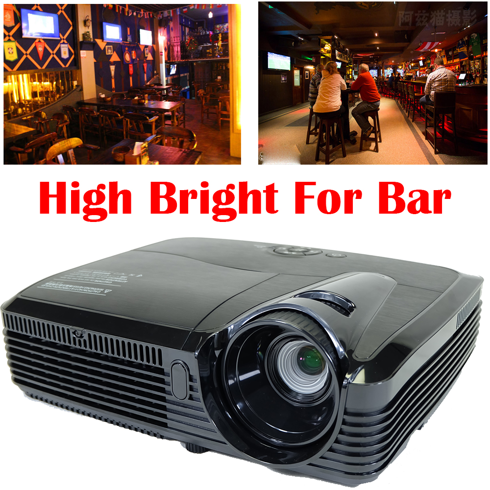 7500lm Hd Home Theater Multimedia Lcd Led Projector 1080: 7500 Lm HD Home Cinema Theater Multimedia 260wbulb DLP