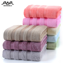 8 Solid Colors 100% Bamboo Towels Summer Cool Fiber Face Bath Towel Set Super Soft Large Bathroom Washcloth
