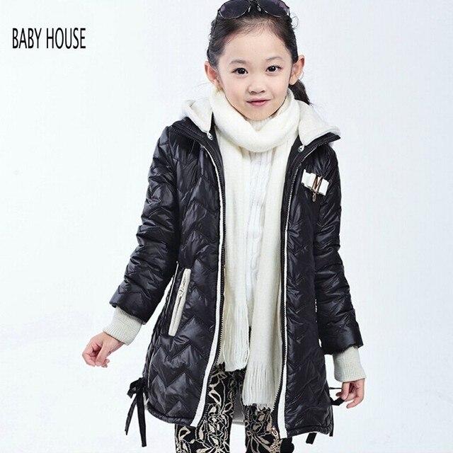 bed83507d New Good Quality Girl Coat Winter Warmer Kids Winter Jacket Kinder Kleidung  Hooded Girls Winter Coat B506