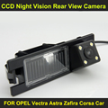 CCD night vision with 4 LED lamps Car Rear View Reverse Camera FOR OPEL Vectra Astra Zafira Corsa Car