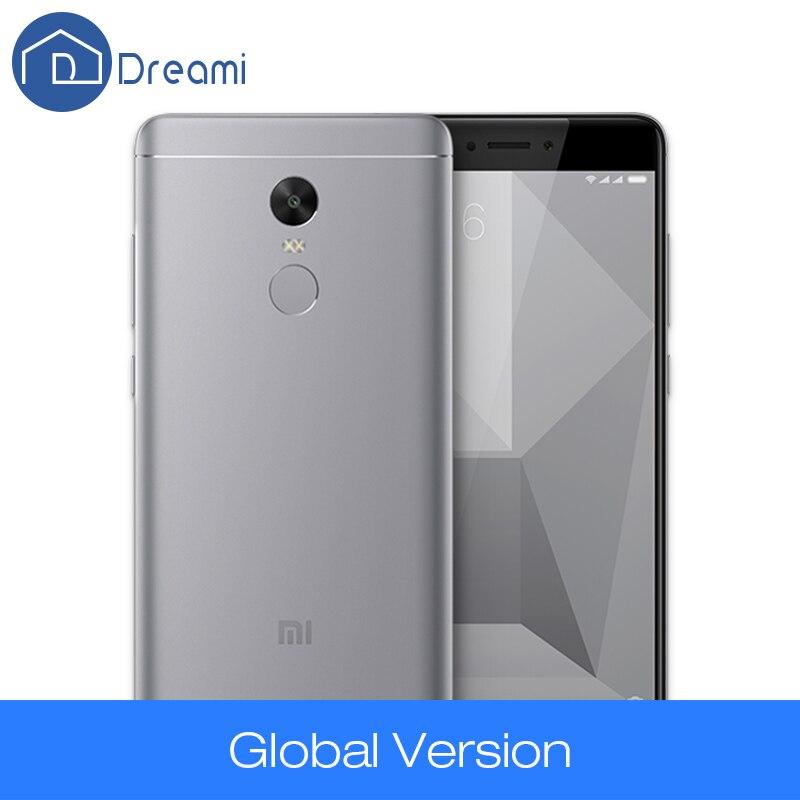 Redmi Note 4X 3GB RAM 32GB ROM Snapdragon 625 Mobile Phone 4100mAh 5 5 Inch Cellphone