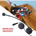 FÁCIL Y SIMPLE! Equitación y Esquí Moto de La Motocicleta Del Casco de Bluetooth inalámbrico de Auriculares Manos Libres Auricular