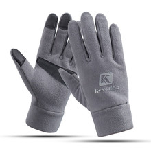 Unisex Men #8217 s and Women #8217 s Fashion Winter Warm Gloves Fleece Windproof Slip Sports Gloves Outdoor Riding Gloves Touch Screen cheap Acrylic NYLON Breathable Cycling Outdoor riding touch screen gloves Washable Gloves Mittens Gym gloves Ski gloves Cycling gloves finger