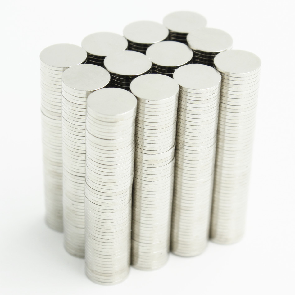 1000pcs Neodymium N35 Dia 10mm X 1mm Strong Magnets Tiny Disc NdFeB Rare Earth For Crafts