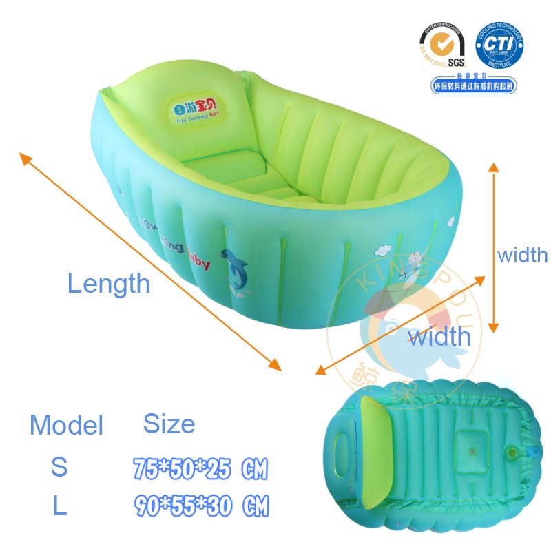 Aliexpress.com : Buy New Baby Inflatable Bathtub Swimming Float ...