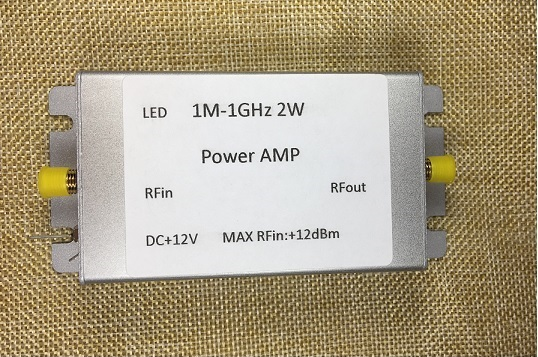 1M-1000MHz 2W Amplifier, HF, FM, VHF, UHF FM Transmitting Broadband RF Amplifier