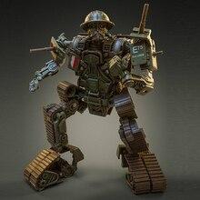 Transformação TW FS01 bulldog tw fs01 filme edtion liga antiga pintura ss coleção figura de ação robô brinquedos aranha vermelha