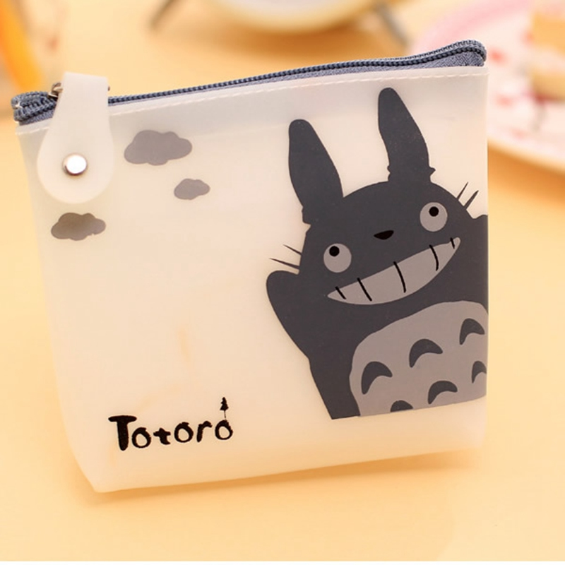 animados totoro bolsa da moeda Packing : Coin Purses + Opp Bag