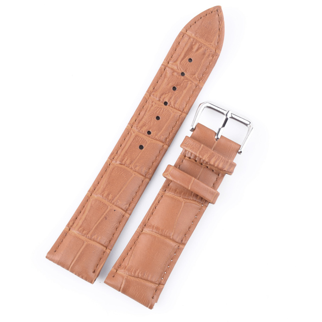 Durable men women Genuine Leather watch strap for men &women 12 ,14,16 18  20 22 24mm genuine leather Watch Band