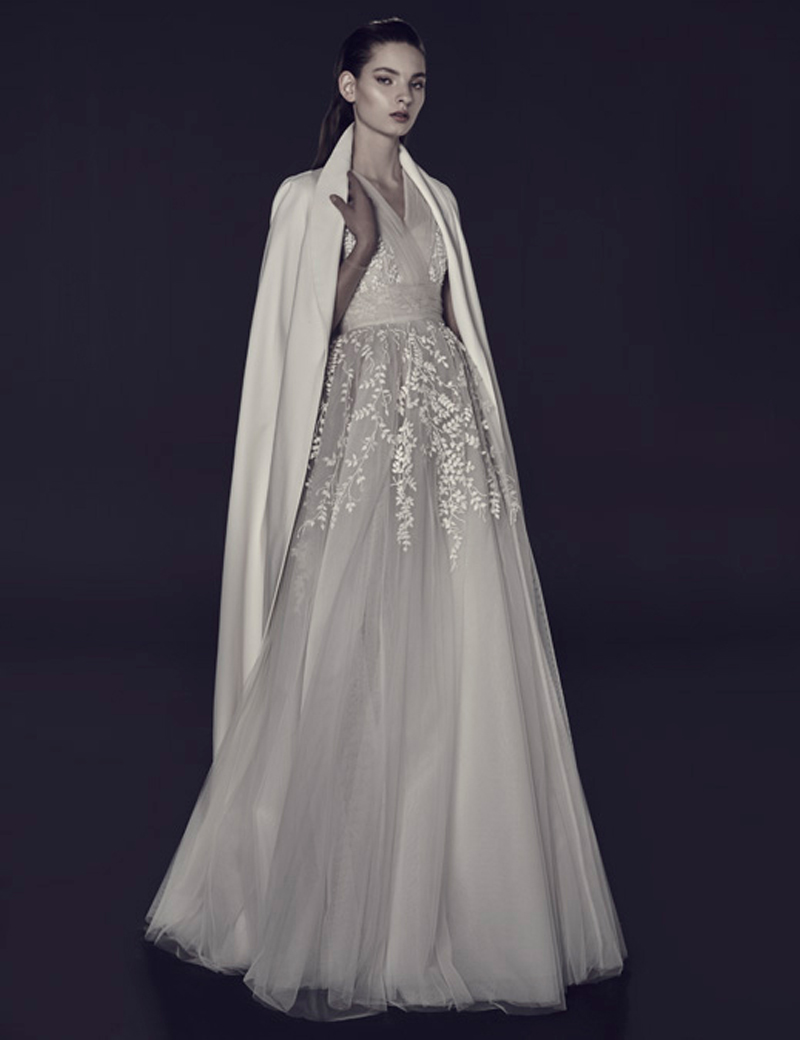 Evening Dress with Coat