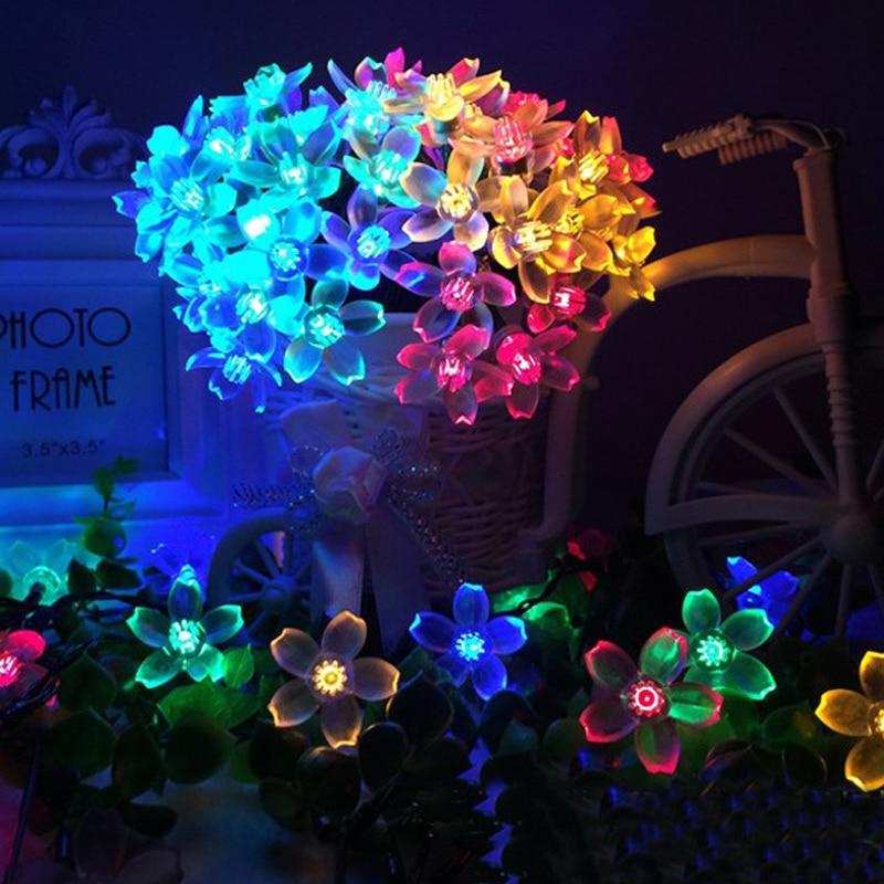 Solar Powered 6 7M Diwali Lamp Christmas Garlands font b Led b font Light font b