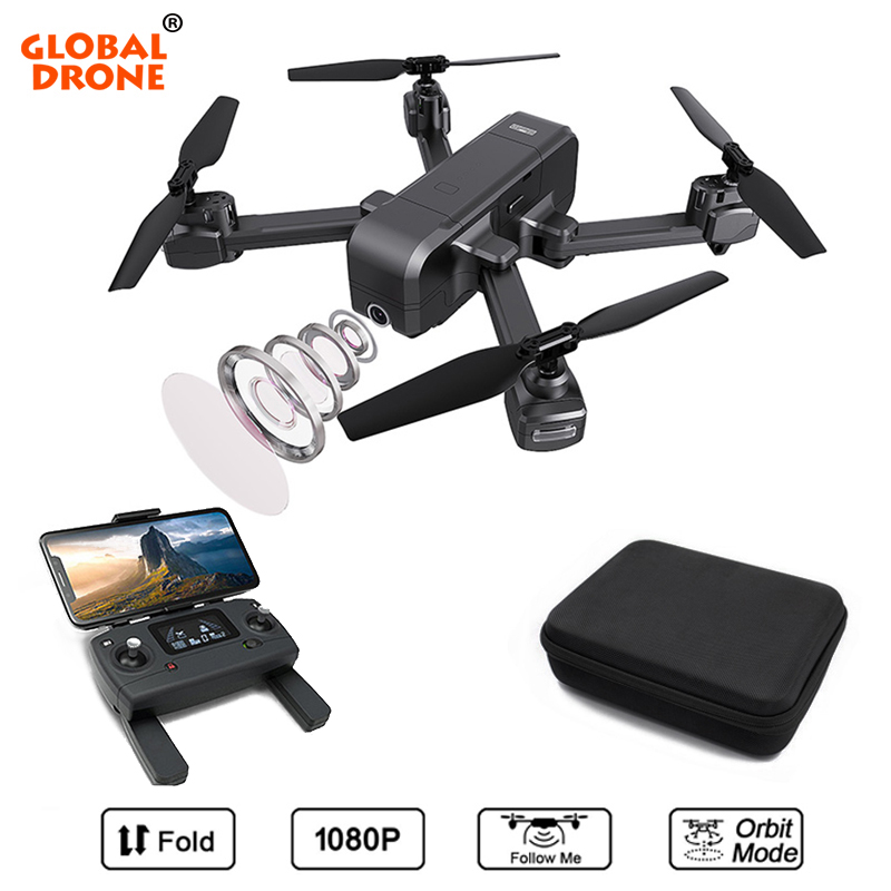 Global Drone Professional GPS Quadrocopter with Camera Follow Me Dron Long Flight Time Drones with Camera