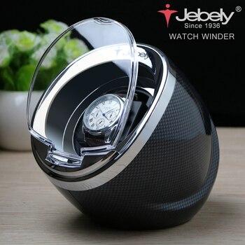 Bobinadora de reloj Jebely negra para relojes automáticos bobinadora automática multifunción 5 modos de reloj 1 JA003