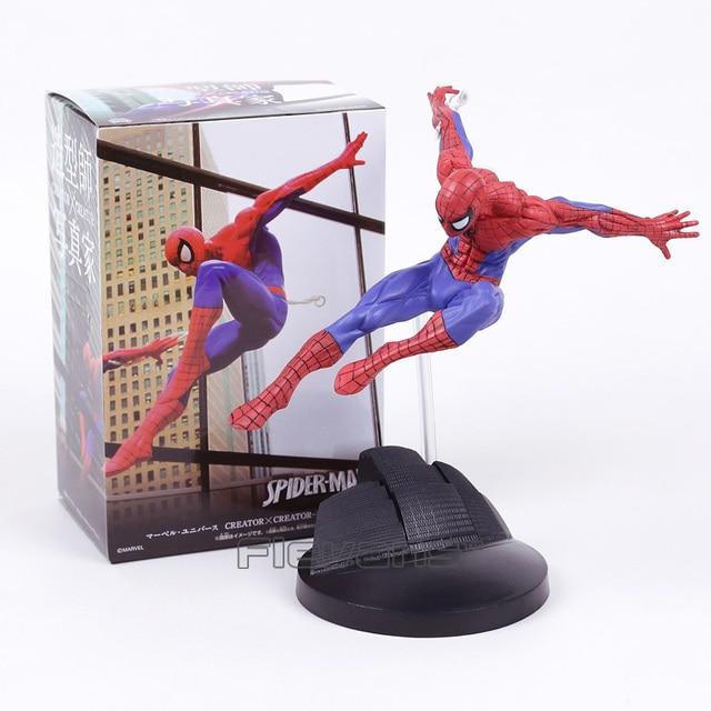 CRIADOR X CRIADOR de The Amazing Spider Man Spiderman PVC Figura Collectible Toy Modelo