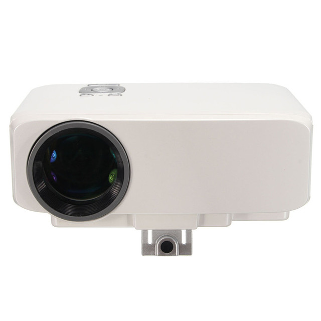 New Arrival GP9S 800LUX Full HD 1080P Home Theater LED Mini Portable Projector Cinema USB TV VGA