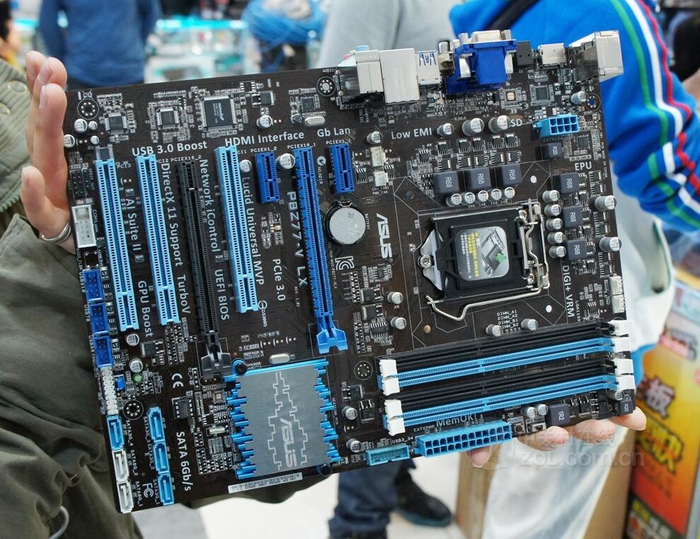 motherboard P8Z77-V LX DDR3 LGA 1155 Support I3 I5 I7 32GB Z77 Desktop motherborad 90%new все цены
