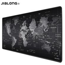 JIALONG Extra Large Mouse Pad Old World Map Gaming Mousepad Anti-slip Natural Rubber Gaming Mouse Mat with Locking Edge jialong extra large mouse pad old world map gaming mousepad anti slip natural rubber gaming mouse mat with locking edge