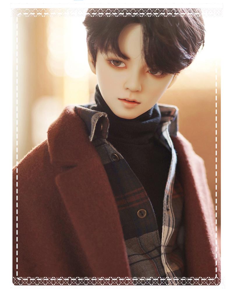 1/3 BJD Doll Fashion Male Idol Style Ball Jointed Dolls Resin Figure Gifts Toy For Girls