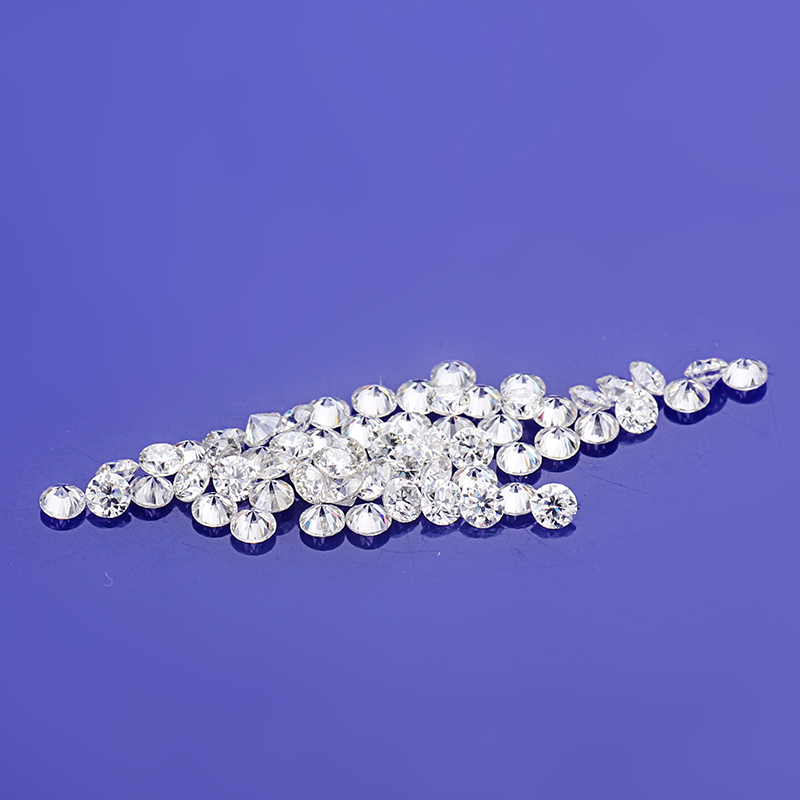 250pcs/Pack Moissanites-Stone Created VVS Clarity Brilliant Round White Cut High-Quality