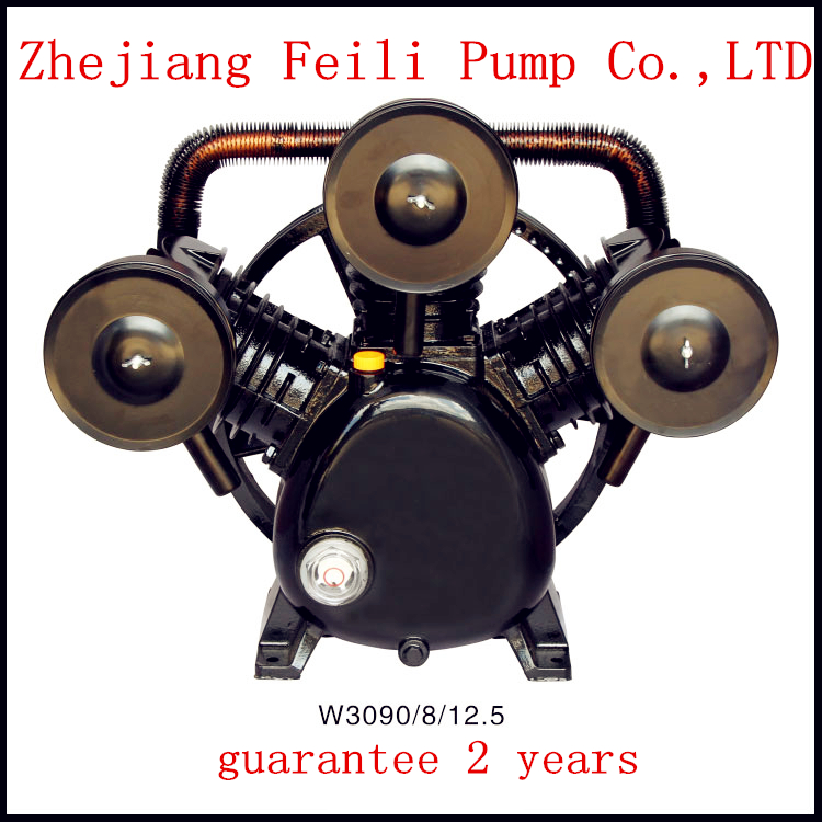 все цены на W3065/8/12.5 220V/380V 3KW Single-stage Air Compressor Head Piston Air Compressor Head