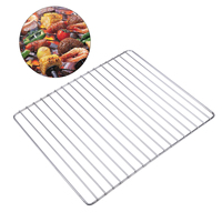 Portable BBQ Grill Stainless Steel ROD Replacement Cooking Grill Grid Grate Barbecue Tool BBQ Accessories For Home Park Use
