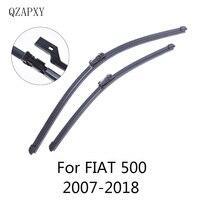QZAPXY Lâminas Do Limpador para FIAT 500 / 500C / 500L / 500X 2007 2008 2009 2010 2011 2012 2013 2014 2015 2016 2017 2018