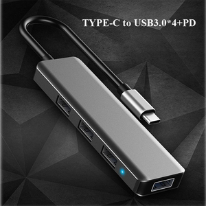 Image 3 - Type C To HDMI USB 3.0 RJ45 VGA Charging Adapter Converter USB Type c Docking Station USB C HUB for MacBook Samsung Galaxy Note8