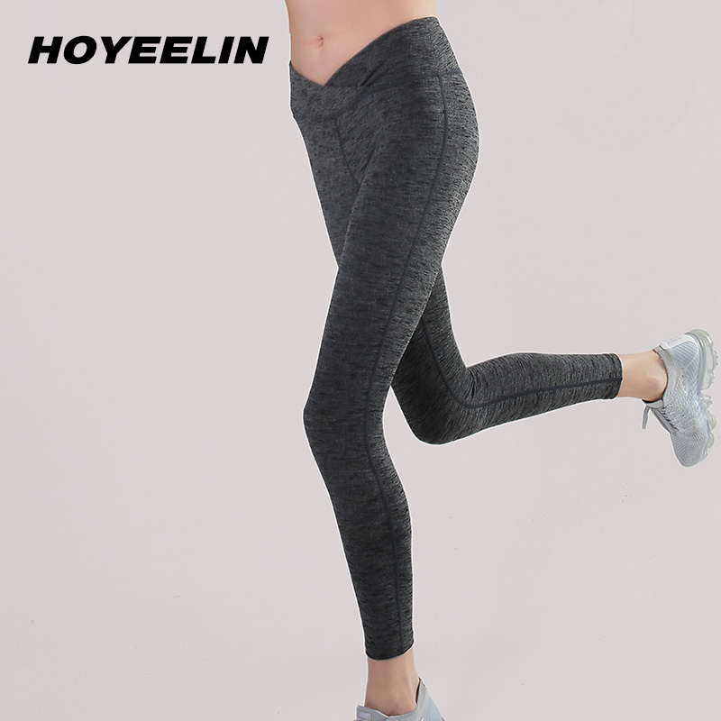HoYeeLin Yoga Pant Fitness Gym Women High Waist Sport Running Pants Sports Wear For Women Leggings For Fitness Sport Clothing