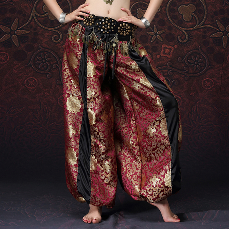 American Tribal Style Belly Dancer Tribal Costume Women Bloomers Chic Gypsy Dance ATS Harem Pants Unisex (without belt)