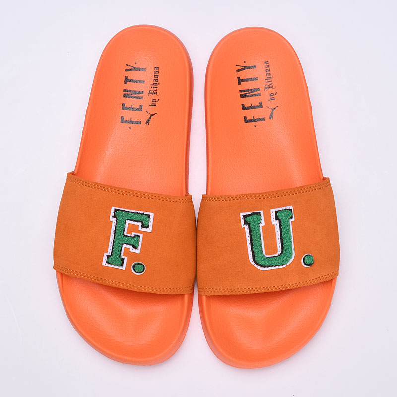 2018 PUMA Womens Fenty x F.U. Leadcat Slides mens shoes Breathable Badminton Shoes Sneaker 35.5-43