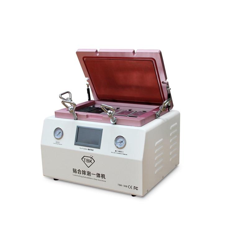 Newest 15' 5 in 1 LCD OCA Vacuum Laminating Machine NO bubble Automatic Laminator Machine For Iphone LCD Refurbish Repair  цены
