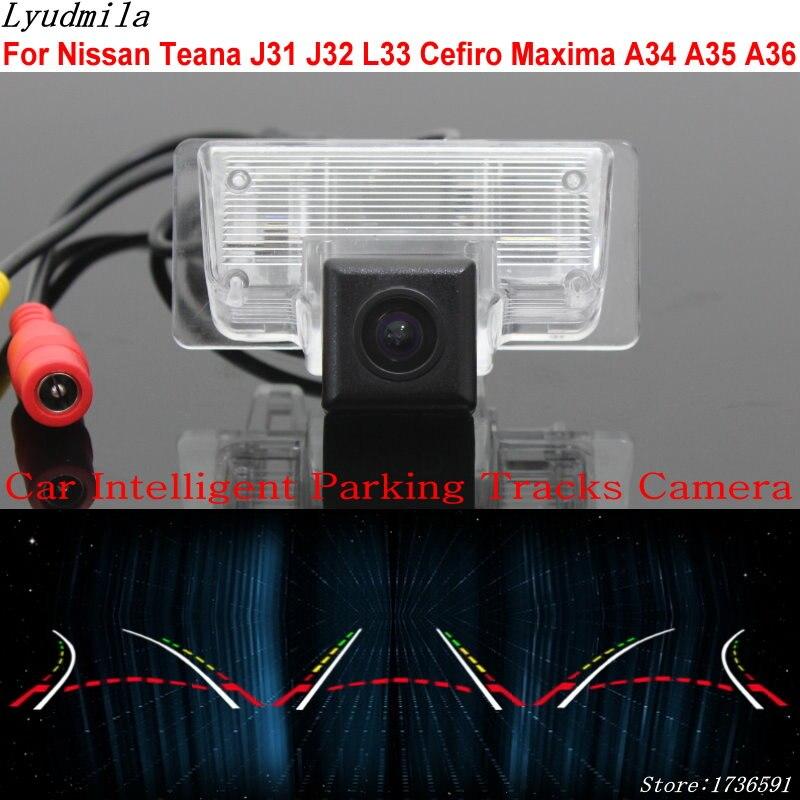 Lyudmila Car Intelligent Parking Tracks Camera FOR Nissan Teana J31 on