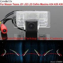 Lyudmila Car Intelligent Parking Tracks Camera FOR Nissan Teana J31 J32 L33 Cefiro Maxima A34 A35 A36 Reverse Rear View Camera