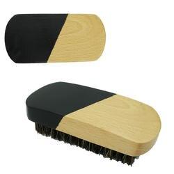 FH-20201 Заказной черный кабан щетины деревянный борода кисти