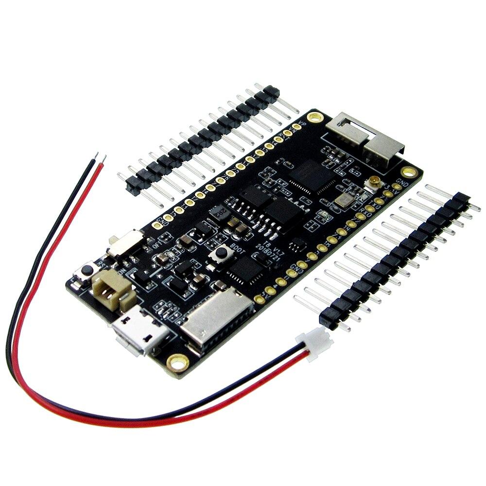 все цены на TTGO T8 V1.3 ESP32 4MB PSRAM TF CARD 3D ANTENNA WiFi&bluetooth ESP32-WROVER Micropython онлайн