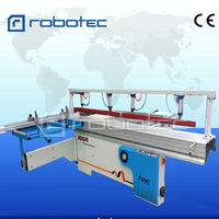 China woodworking machine 45 degree table sliding panel saw with CE, FDA