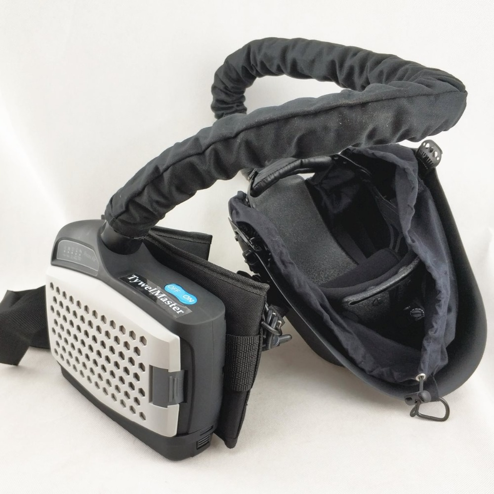 Respirador purificante de aire accionado para mascara de soldadura