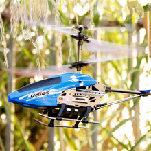 mini rc helicopter U822 6-Axis Gyro 3.5CH 2.4G remote control rc quadrocopter with LED light model plane for children as gift to