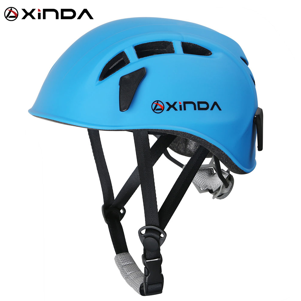 Xinda outdoor rock climbing downhill helmet speleology mountain rescue equipment to expand helmet helmet wading safety helmet safety pvc special forces helmet random color