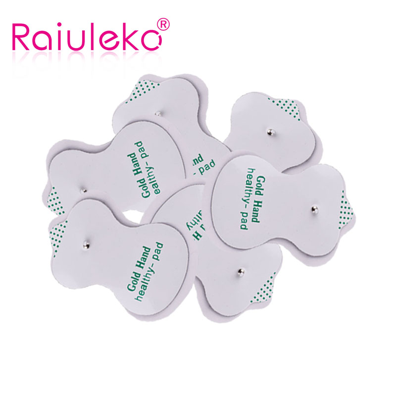 20pcs/lot Good Quality white Electrode Pads for Tens Acupuncture Digital Therapy Machine Massager Slimming Massager Health pads 20pcs rtl8111c good prices and quality